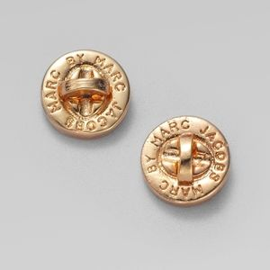Marc Jacobs Gold Studs